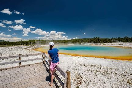 Yellowstone National Park, EE.UU.