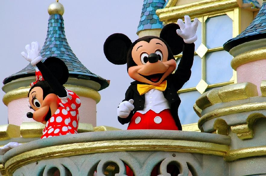Mickey y Minnie Mause
