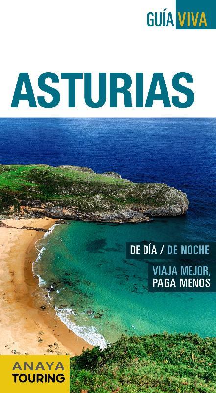 Mapa de carreteras Anaya Touring - Carreteras de Asturias