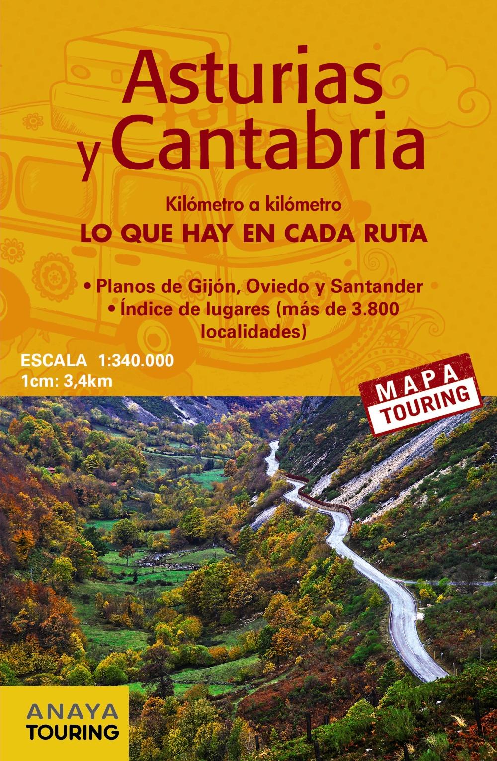 Guías de viaje Anaya Touring - Guía Total Asturias